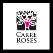 logo carré roses