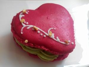macaron coeur
