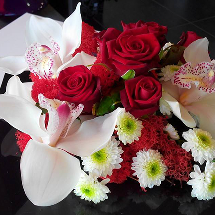 bouquet  LoveLoft Bordeaux