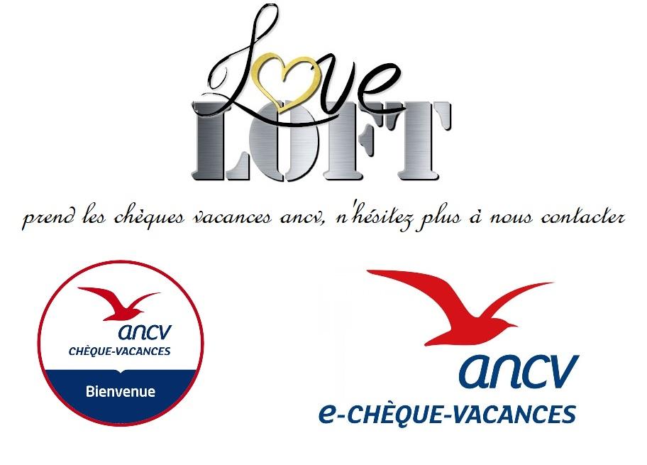 chèques vacances ANCV LOVE LOFT BORDEAUX 1